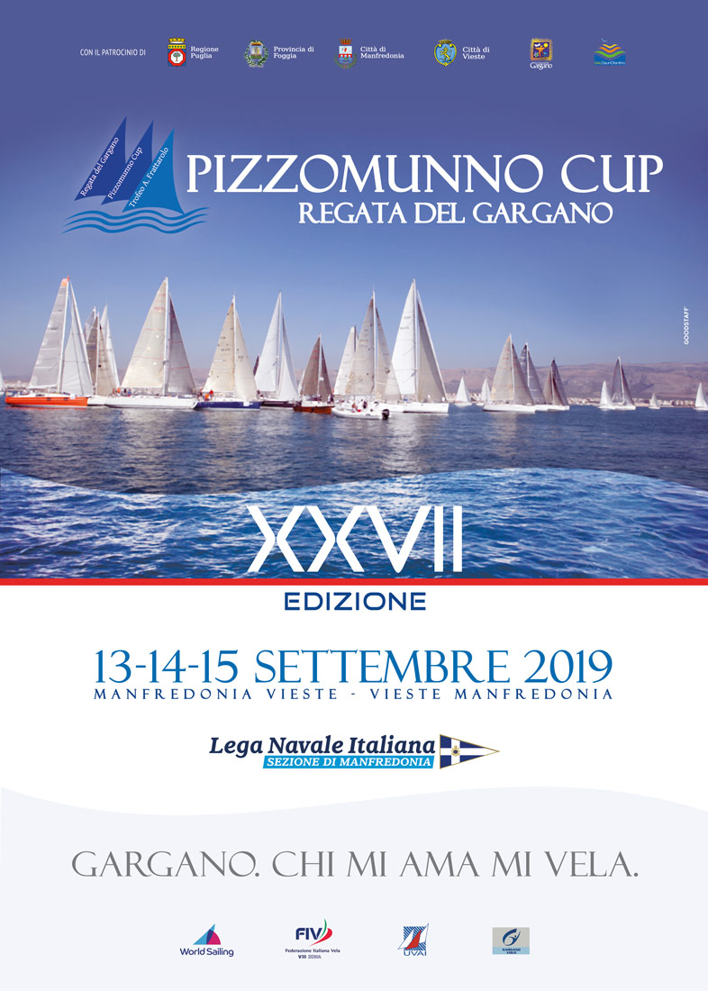 Regata del Gargano - Pizzomunno Cup - Locandina